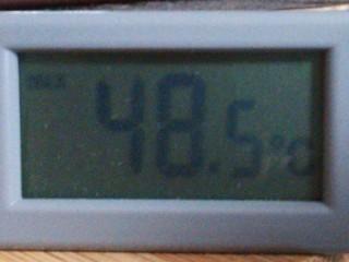 2013年8月までの最高気温